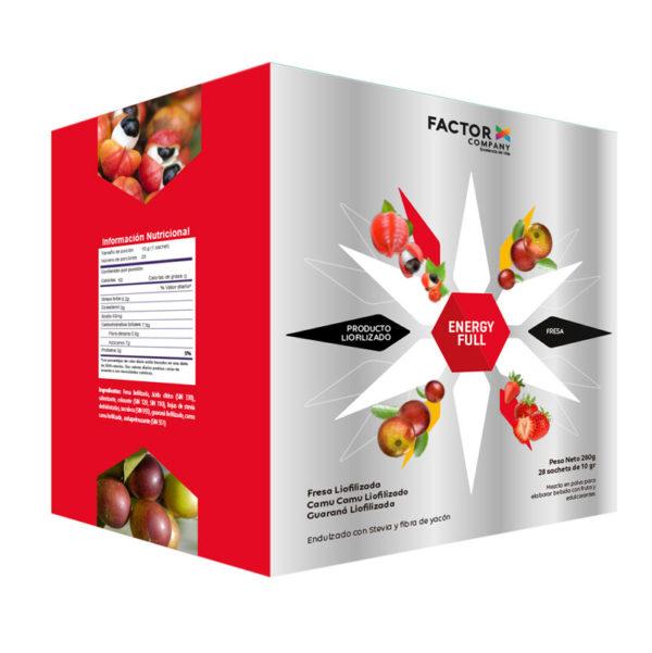 Energy Full Fresa Factor X